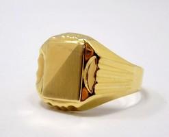 Arany férfi pecsétgyűrű (ZAL-77411)
