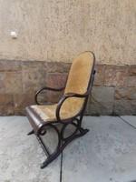 Különleges, antik, thonet karszék, fotel