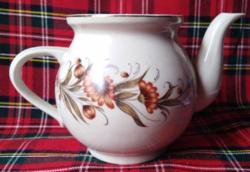 Aranyos virágmintás kávés kanna