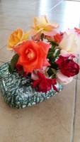 Retro kerámia ikebana váza eladó!