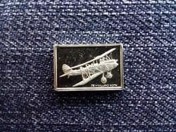 USA Franklin Repülős Mini-Ingot Gyűjtemény De Havilland Moth .925 ezüst 1979/id 10107/
