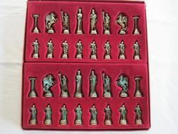 Fém sakk sakk-készlet