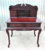 RITKASÁG! Eredeti antik íróasztal, szekreter!!! Mahagóni Fából kiváló állapotban!!! CCa 1860.