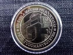 A Pécsi Tudományegyetem alapításának 650. évfordulója .925 ezüst 10000 Forint 2017 BP PP/id 10159/