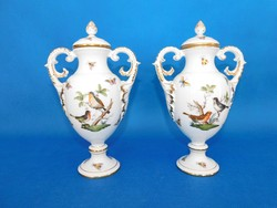 Herendi Rothschild urna váza pár