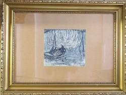 Sárkány Lóránd: Csónakos