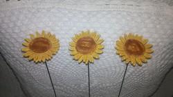 Kerámia napraforgó virágok 2.