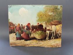 Gutaházy Németh Gyula: Piac