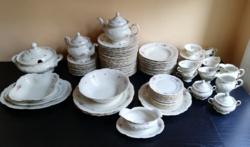 99 db -os KPM Friderika német porcelán étkészlet hibátlan, gyönyörű giga csomag