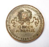 'Az érdem jutalmául' 1886-os érem.