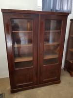 Szecessziós vagy artdeco könyves szekrény