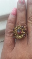 Rubin vörös régi gyürű