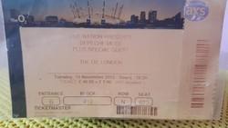 DEPECHE MODE LONDONI BELÉPŐ  2013