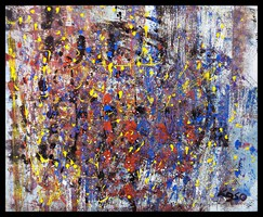 """""""Leszakadás """" Koso festmény ,hatalmas méret 80 x 100 cm ,keretes akció"""