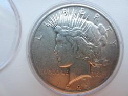 1922 Usa Liberty Peace dollar ezüst érme