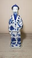 Régi nagyméretű kínai porcelán szobor