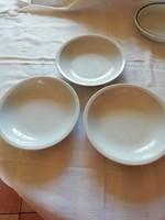 4 db Alföldi porcelán menzás, főzelékes tányér