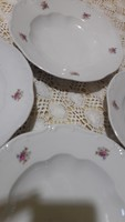 4db Zsolnay mély tányér