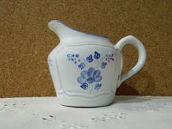 Herendi kékvirágos tejkiöntő.