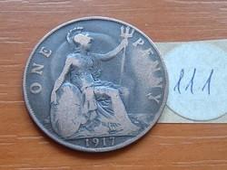 ANGLIA ANGOL 1 PENNY 1917 111.