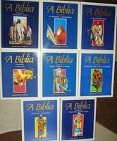 A Biblia felfedezése  Teljes képregény 8 kötetes( A/5-ös méret  Fabula kiadó)