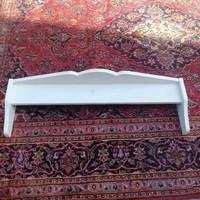 Falipolc fehér. 91cm hosszú