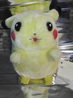 Interaktív, beszélő, önállóan mozgó és szövegelő Pikachu plüss - robot