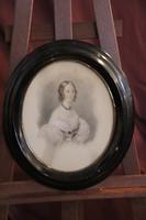A. Heinz szignóval - Hölgy arcképe