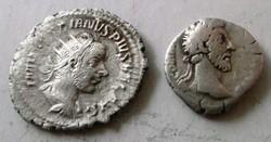Ezüst Római Denárok Ritkák