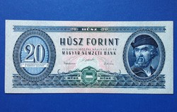 1957 20 forint extra fine bankjegy