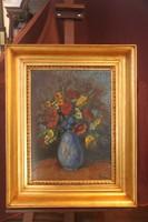 Belányi Viktor - Virágcsendélet