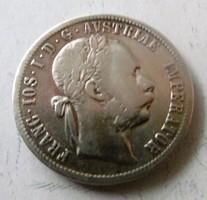 Ezüst 1 Florinos 1879, T2-3