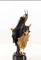 Art deco Satanella bronz szobor -sátán