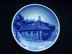 Andersen szülőháza dísztál - Royal Copenhagen porcelán