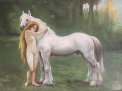Ismeretlen festő - 1910-es évek - olajfestmény