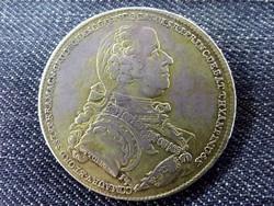 Nagyon ritka (csak 300 db!) Batthyány Károly ezüst 1 Tallér 1768/id 10140/