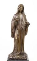 Madonna bronz szobor