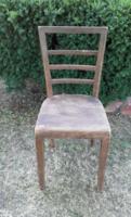 Antik art deco teljesen felújítandó szék 1 db