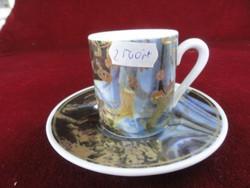 Gollhammer Tischkultur német kerámia/porcelán kávéscsésze + alátét.