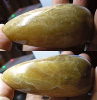 Masszázshoz sárga kalcit kisebb méret