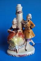   Lippelsdorf porcelán lámpa