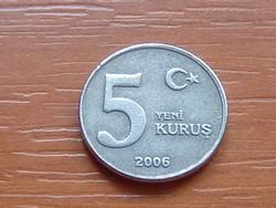 TÖRÖK 5 KURUS 2006  #