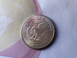 1971 USA ezüst emlék dollár 25 gramm 0,400