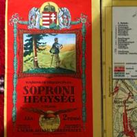 Soproni hegység-ANTIK TÉRKÉP
