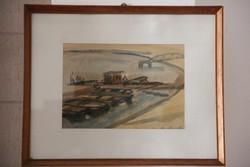 Fáber Gabriella - Csónak kikötő