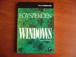 Egyszerűen Windows -KÖNYV RÉGI
