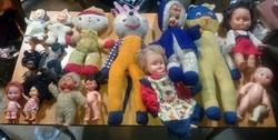 Retró babák játék babáb padlásról minden egyben retro vintage 2.