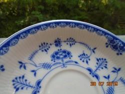 Dán JÜTLAND COBALT máz alatt kézzel festett Meisseni kék hagyma minta egy változatával