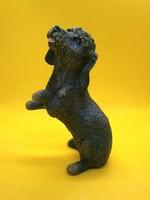 Élethűen kidolgozott pitiző Tacskó kutya Goebel Saphír kollekció darabja 1996