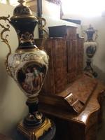 Francia Porcelán sevres féle váza